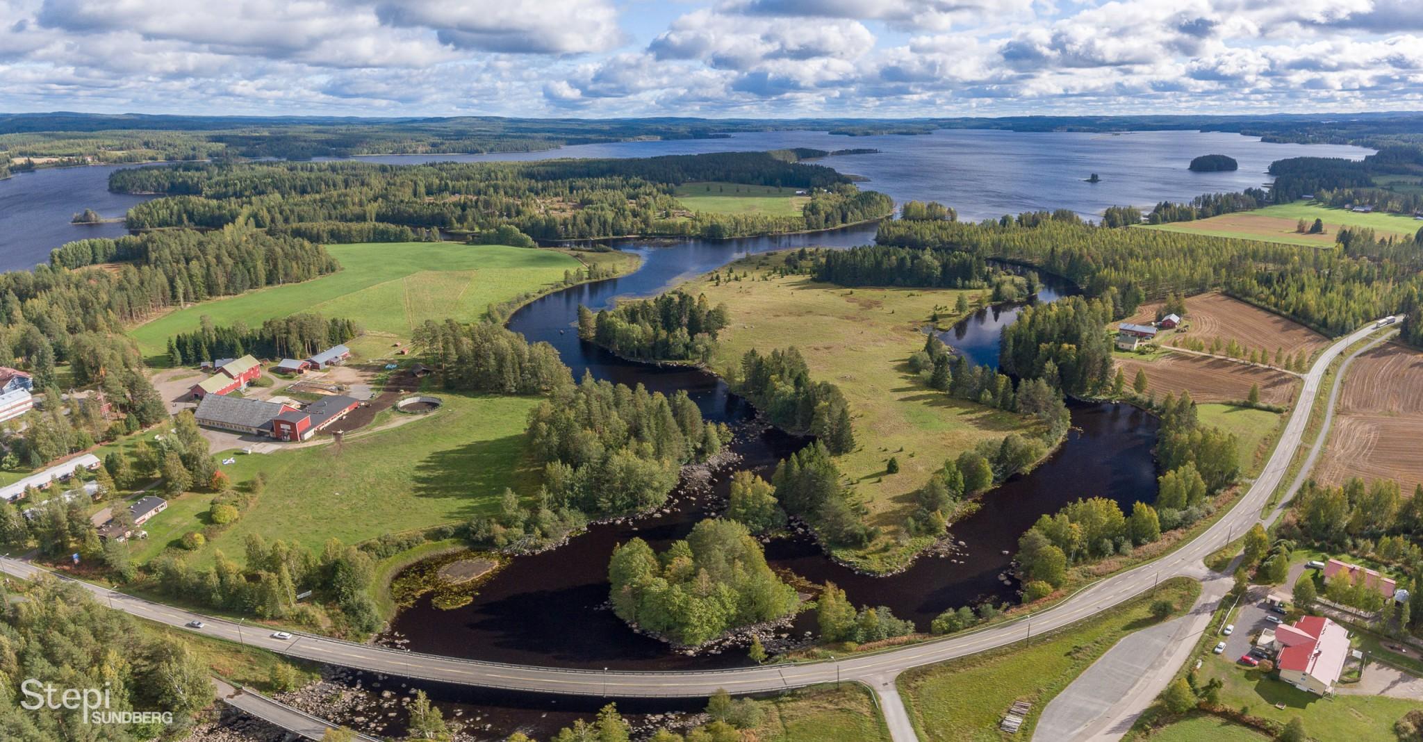 Ilmakuva Tarvaala, Valokuvaaja Stepi Sundberg