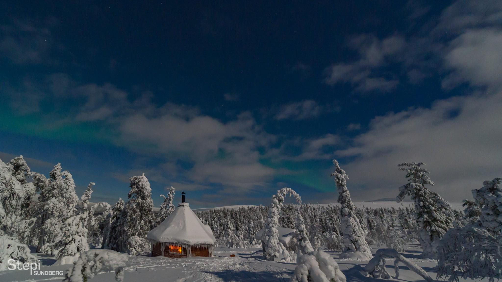 Luontokuva Äkäslompolo, Valokuvaaja Stepi Sundberg